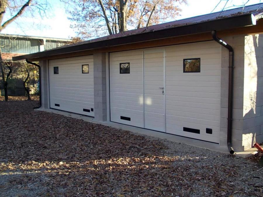 Progetto posa porta da garage progetti porte garage for Due progetti di garage per auto