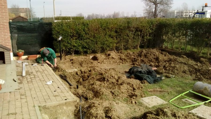 Foto sistema di irrigazione di tecnoservice 388878 for Sistema irrigazione