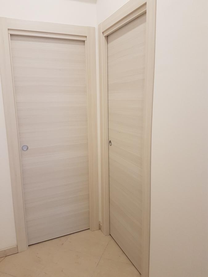 sistema di porte scorrevoli interno muro
