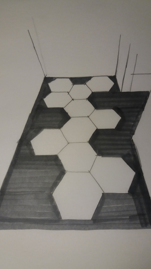 sketch pavimento cucina