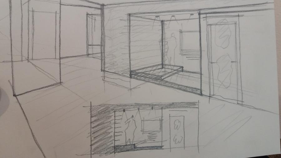 sketch per nicchia