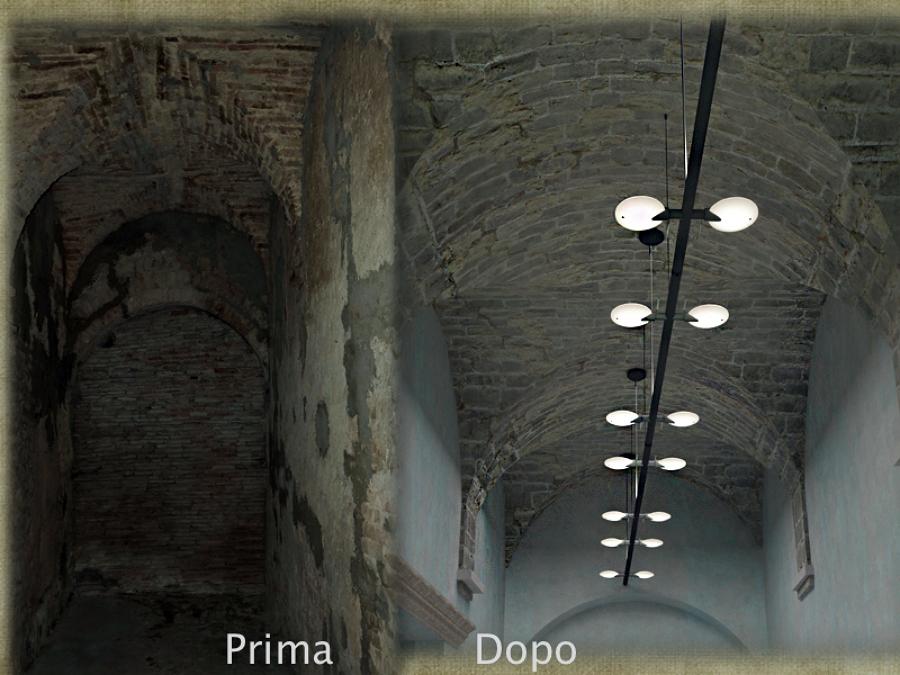 Decorazioni Per Soffitti A Volta : Foto: soffitto con volte in mattoni di architetto alessandro