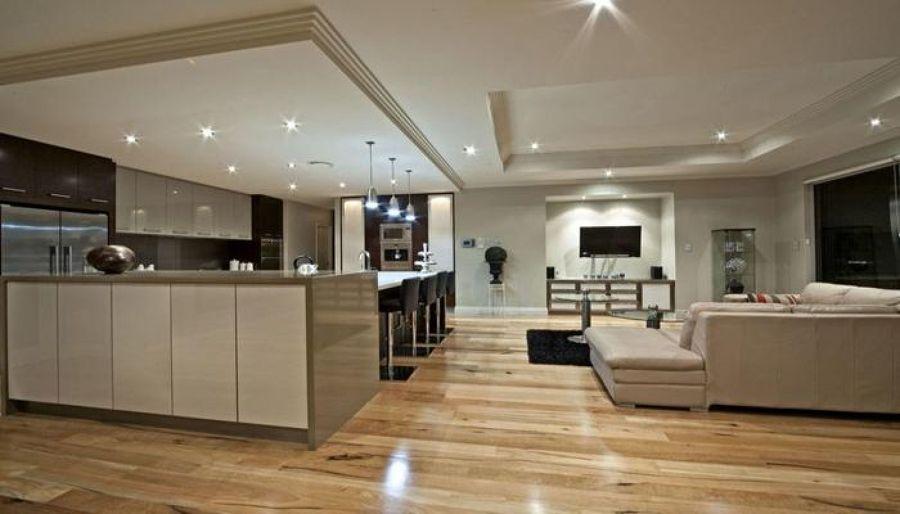 Foto soggiorni living e cucine progetti e realizzazioni di studio sciarra 413417 habitissimo - Cucine living moderne ...
