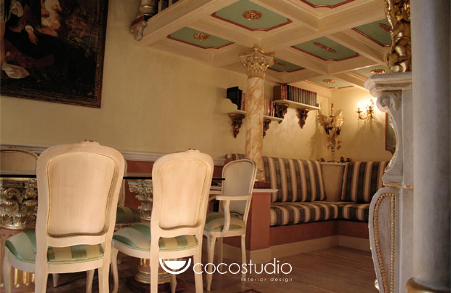 Ristrutturazione completa di un appartamento stile - Casa stile barocco ...