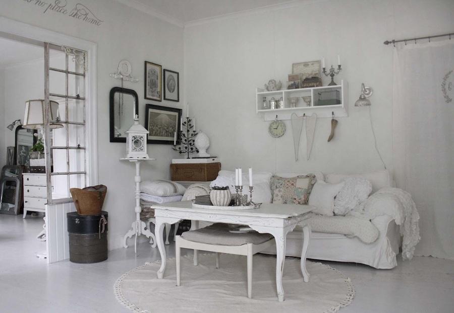 Foto: Soggiorno Bianco Shabby Chic di Marilisa Dones #363175 ...