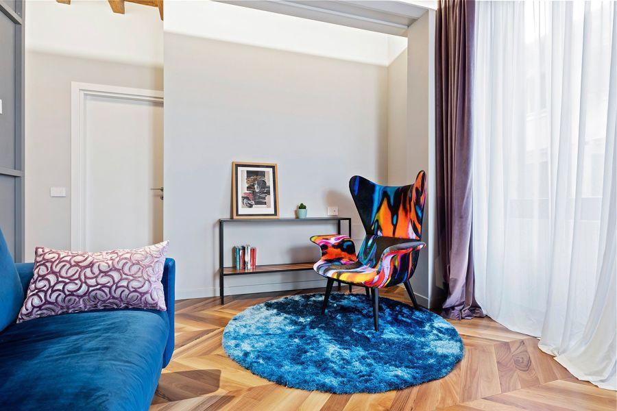 soggiorno colorato