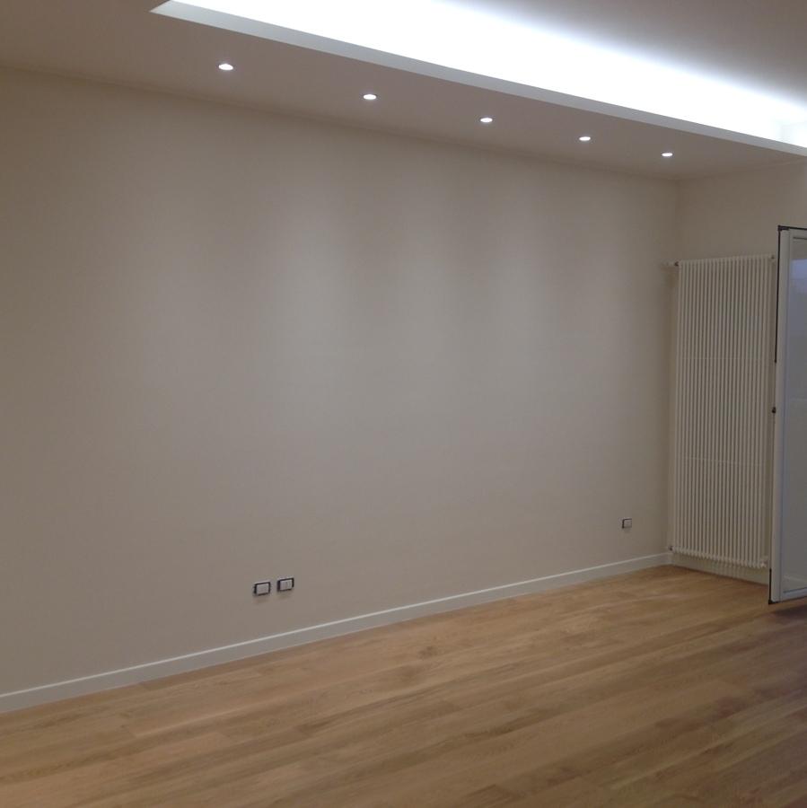 Progetto ristrutturazione appartamento a ceglie messapica for Controsoffitto soggiorno