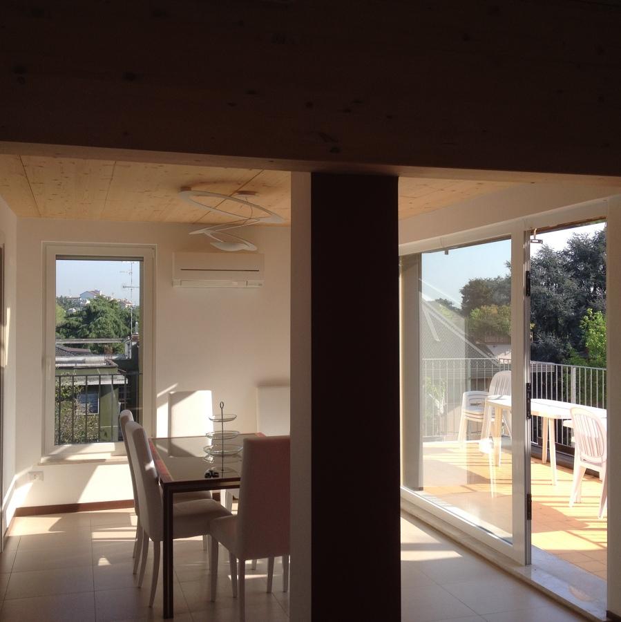 soggiorno con terrazzo