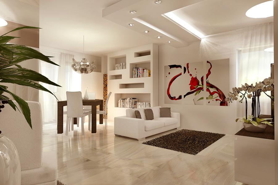 Progetto Per la Palazzina di Paese  Idee Interior Designer