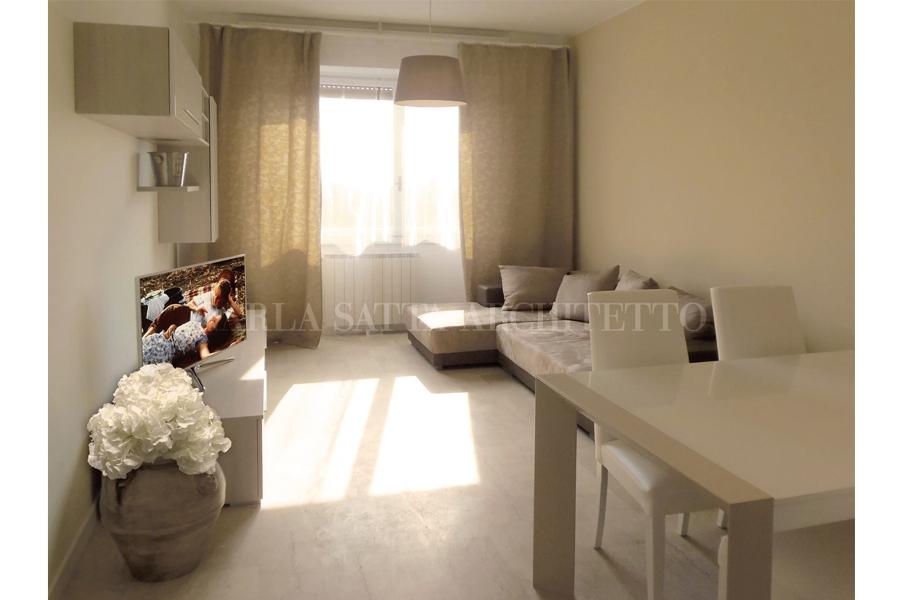 Elegante Ristrutturazione Appartamento Milano Tono Su