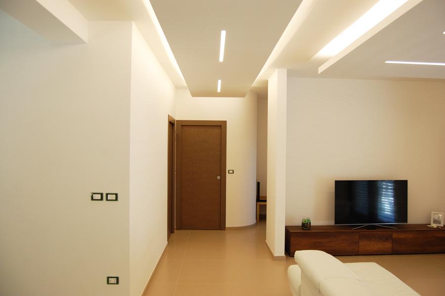 soggiorno e zona ingresso