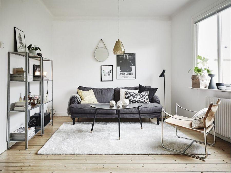 Soggiorno stile scandinavo idee per il design della casa for Arredamento scandinavo vintage