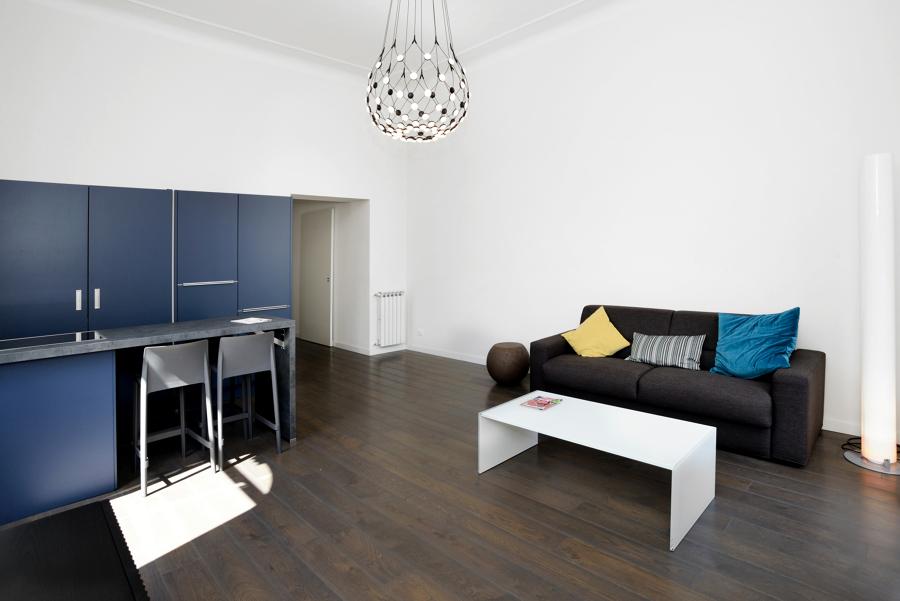 Soggiorno: vista zona divano