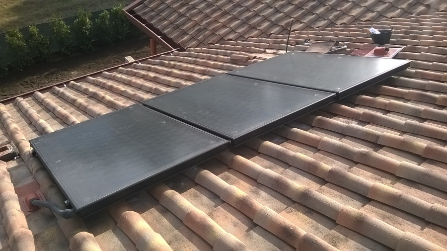 Pannello Solare Termico Rotex : Impianto radiante a pompa di calore idee riscaldamento