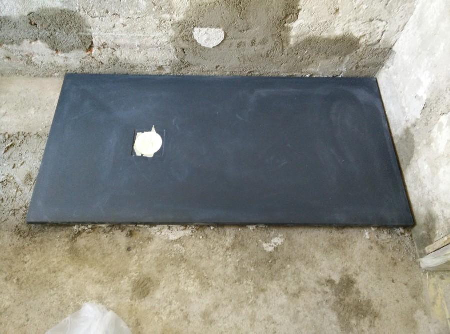 Foto posa piatto doccia in pietra minerale di edilformulacasa 398075 habitissimo - Posa piatto doccia prima o dopo piastrelle ...