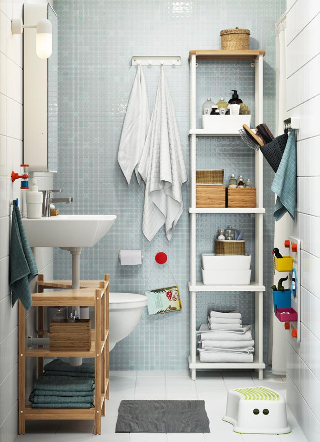 Foto soluzione bagno piccolo di manuela occhetti 605715 - Ikea bagno piccolo ...