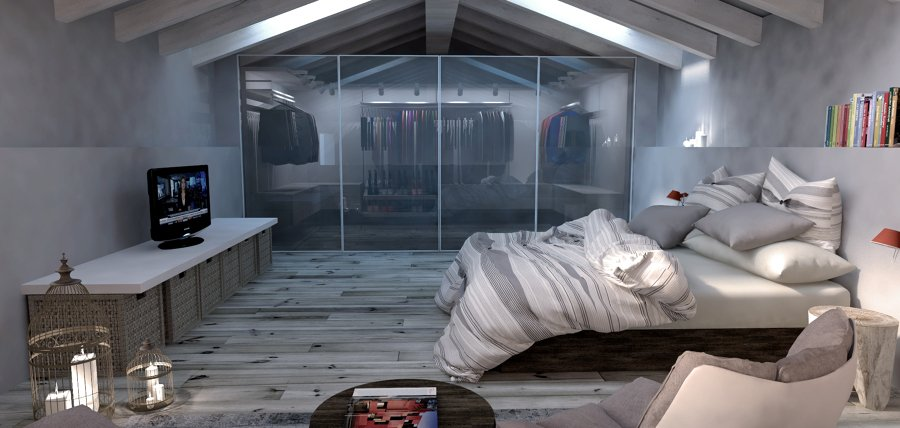 Foto: Soppalco /camera con Cabina Armadio di Emotional Home ...