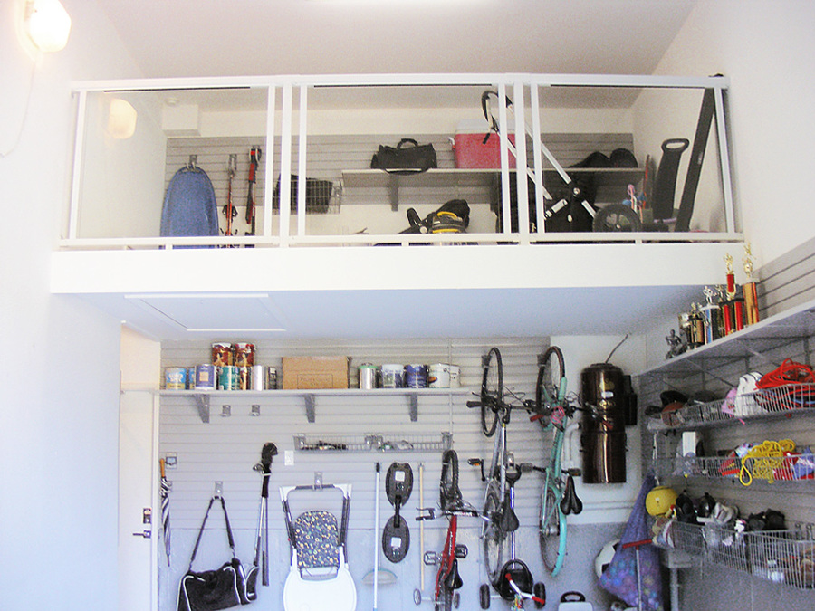 Costruire Mensole Garage Idea D Immagine Di Decorazione