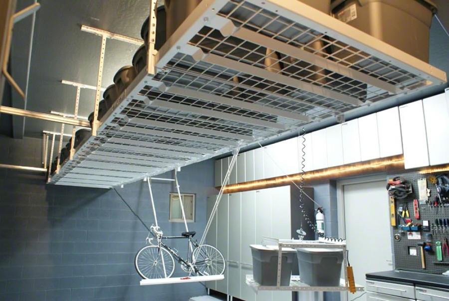 Come sistemare il garage soppalcandono idee costruzione for Soppalco garage di stoccaggio fai da te