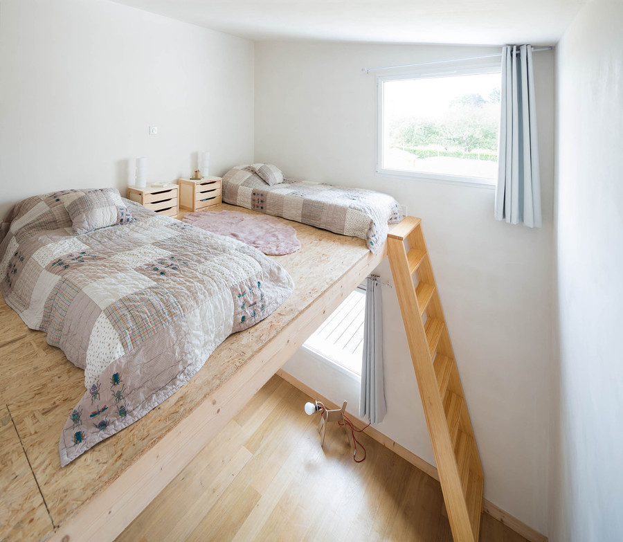 Foto soppalco per camera da letto di federica bossoni for Camera da letto e studio