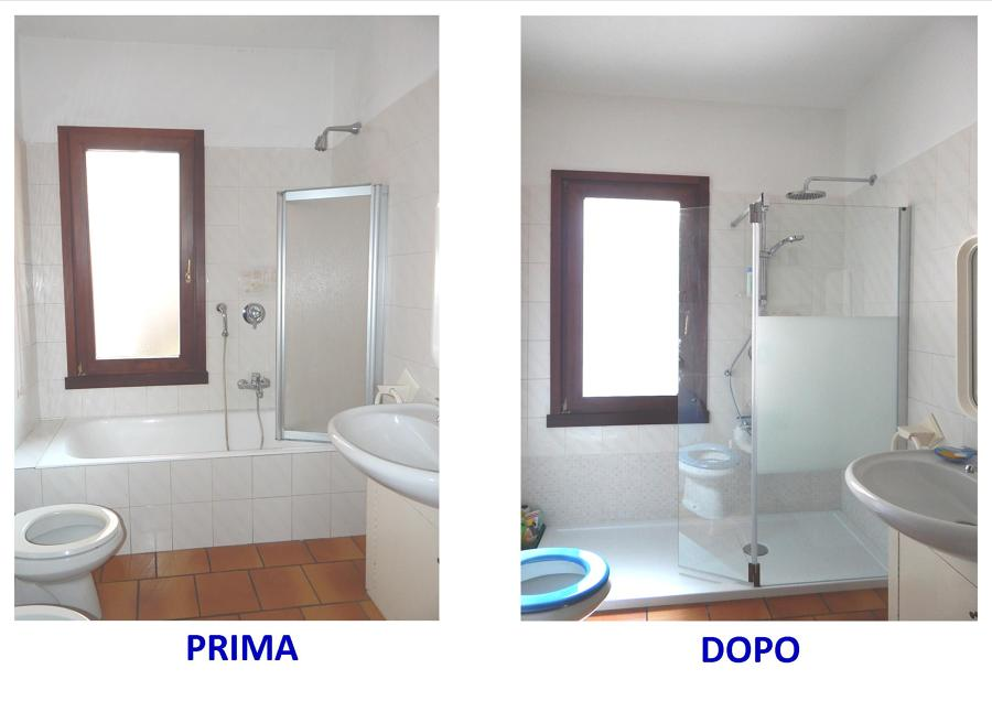 Foto sostituire vasca con doccia brescia di ristruttura di scotti