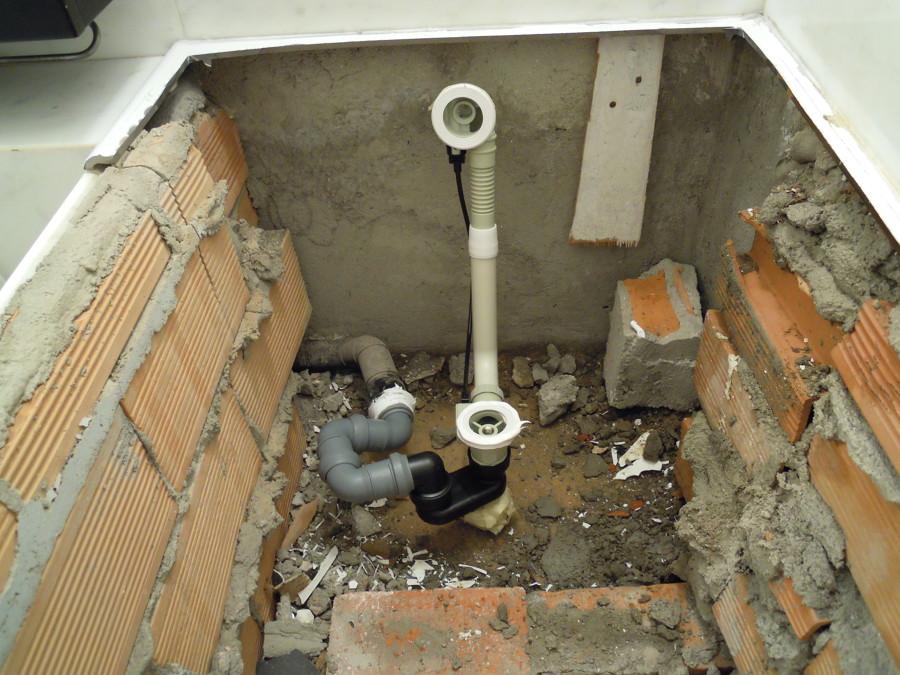Sostituire scarico vasca da bagno termosifoni in ghisa - Sostituire la vasca da bagno ...