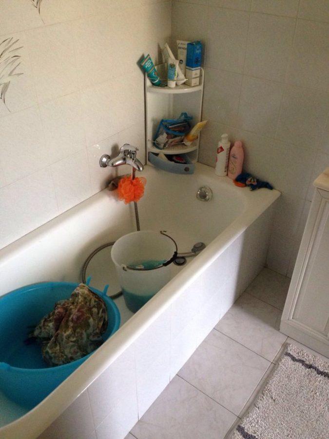 Sostituzione vecchia vasca da bagno
