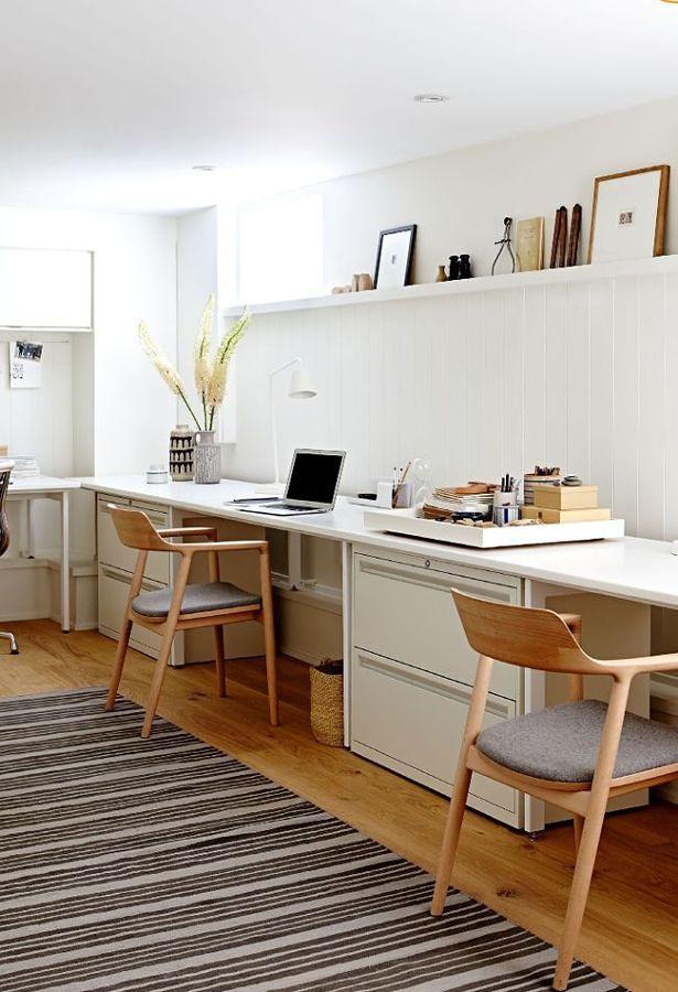 spazio di lavoro per due