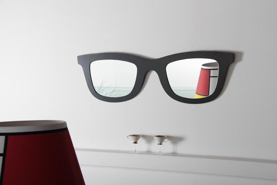 Foto specchio a forma di occhiali da sole di claudia loiacono 579011 habitissimo - Specchio a forma di sole ...