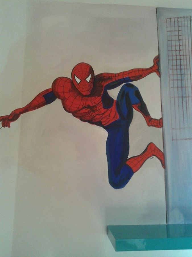 Cameretta Spiderman   Idee Imbianchini -> Lampadario Cameretta Spiderman