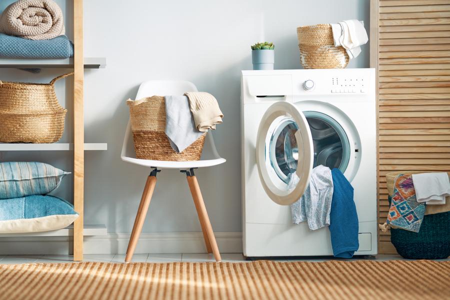 stanza lavatrice