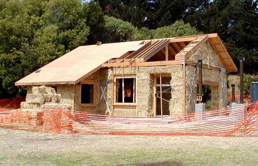 Costruire una casa di paglia idee reformas - Costruire una casa in paglia ...