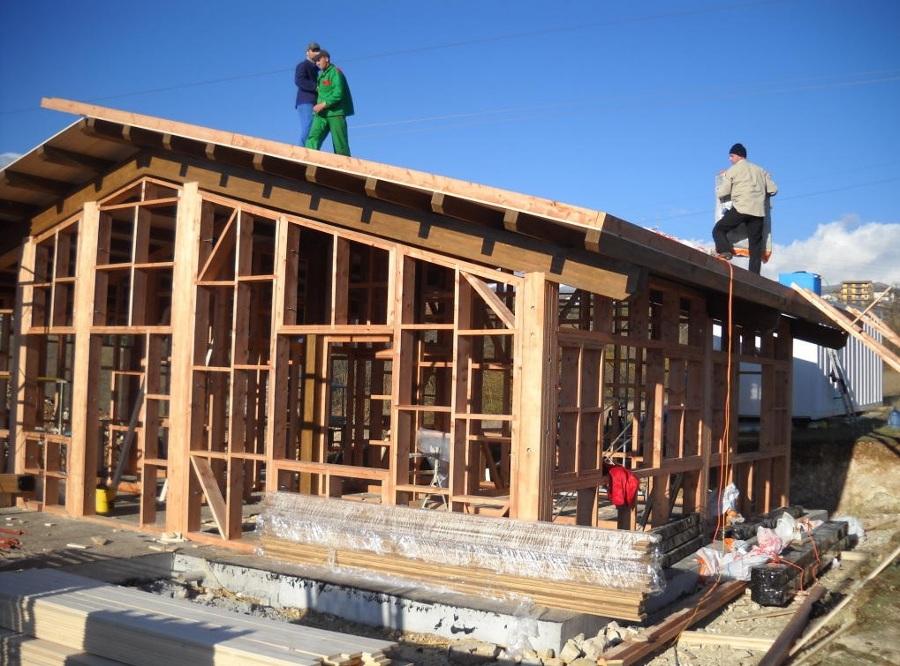 Foto struttura in legno a telaio di alpa edilcantieri 324666 habitissimo - Quanto costa una casa in acciaio ...