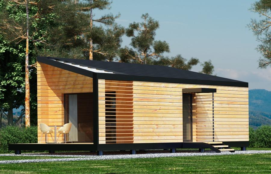 Piccole strutture idee costruzione case prefabbricate for Piccole case moderne