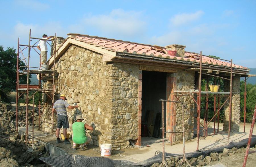 Foto stuccatura pietra a faccia vista di c a s - Pietra faccia vista per esterni ...