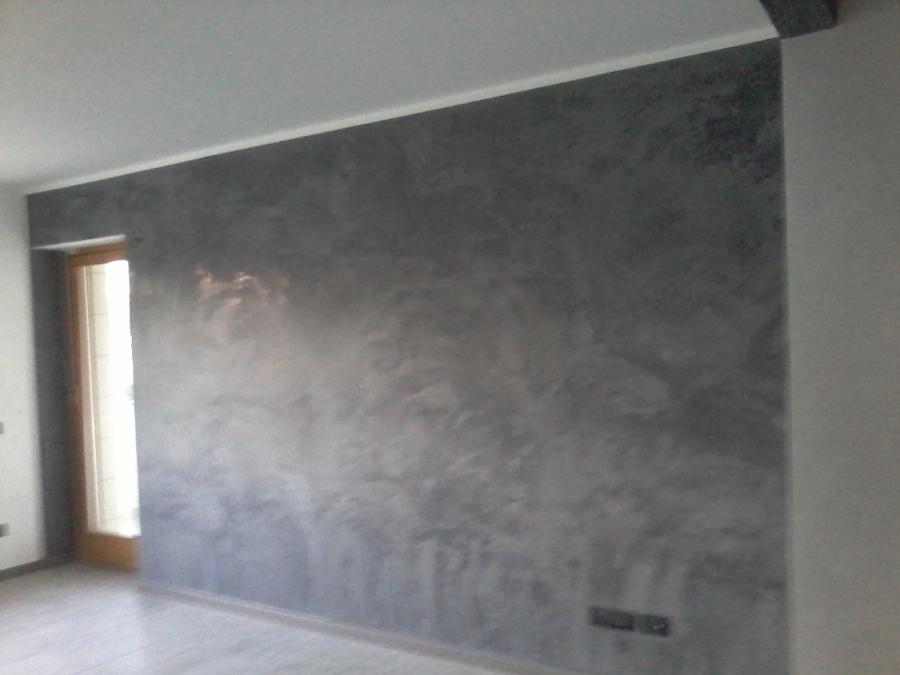 pareti a stucco veneziano grigio antracite