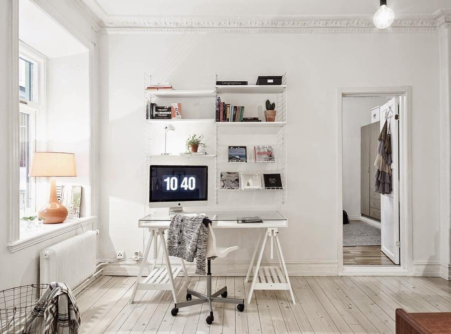 5 consigli per arredare uno spazio di lavoro in casa for Arredare lo studio di casa