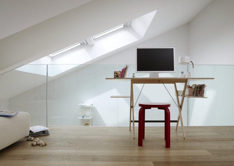Foto studio o camera aggiuntiva nel sottotetto di marco benasseni
