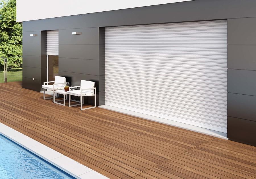Proteggi la tua casa con le tapparelle idee interior designer - Serrande elettriche per finestre ...