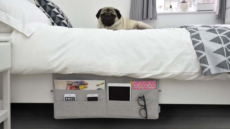 Tasca porta oggetti per divano o letto