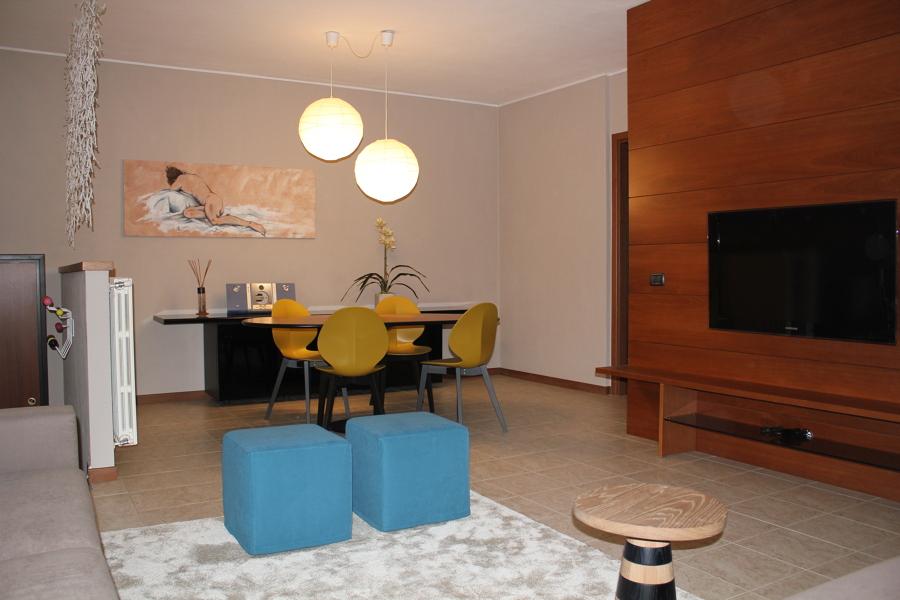 Progetto realizzazione appartamento a seveso mb idee for Arredare appartamento seminterrato