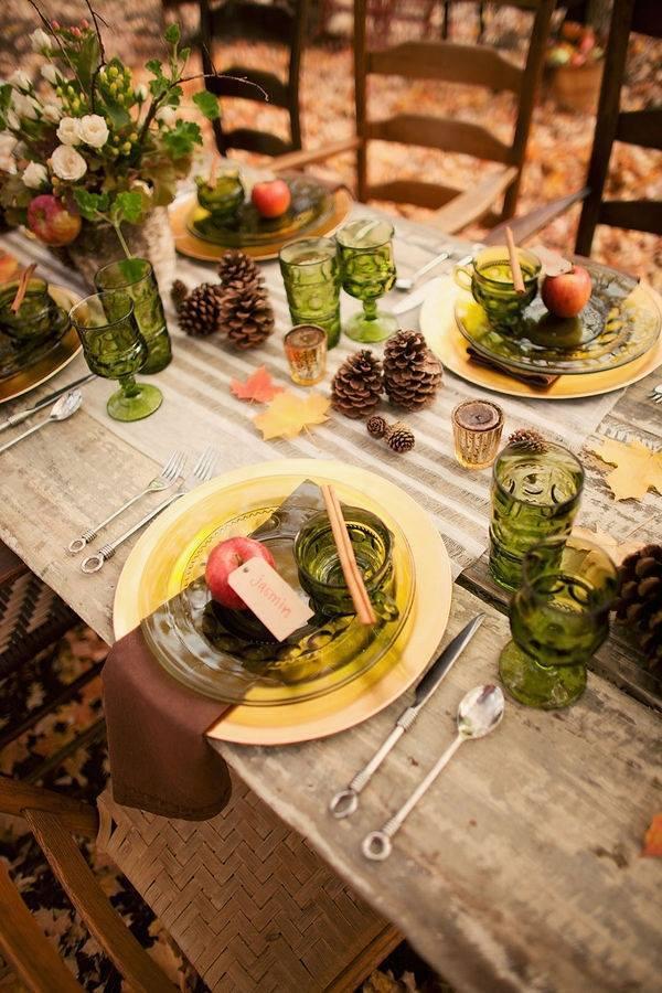 tavola autunno