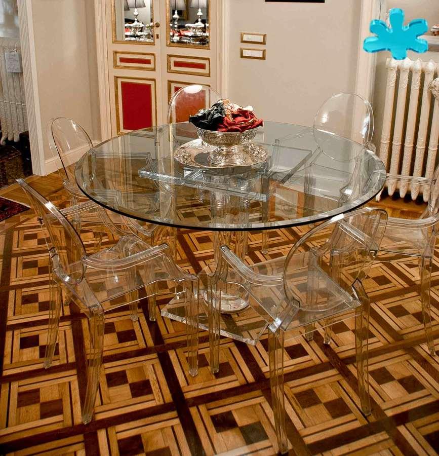 Foto tavoli da pranzo di eldorado plexiglas 444544 for Tavoli pranzo