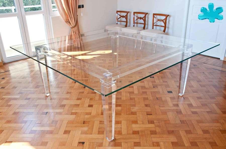 Foto: Tavoli da Pranzo di Eldorado - Plexiglas #444560 ...