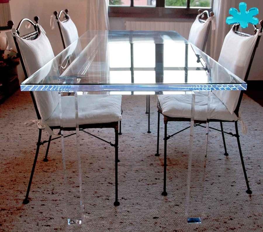 Foto tavoli da pranzo di eldorado plexiglas 444563 for Tavoli pranzo