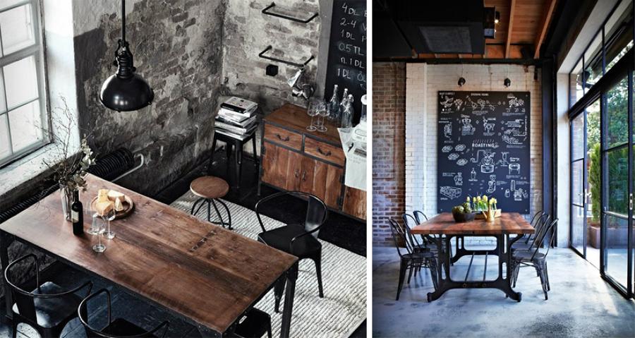 Foto tavoli in stile industriale di rossella cristofaro for Arredamento rustico industriale