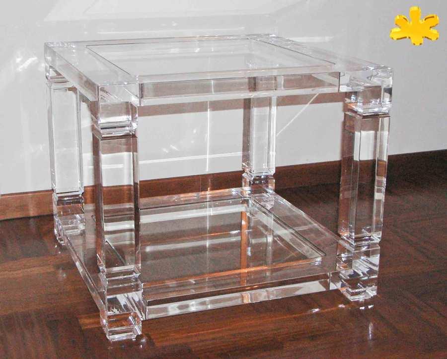 Tavolini divano idee per il design della casa - Tavolini plexiglass ...
