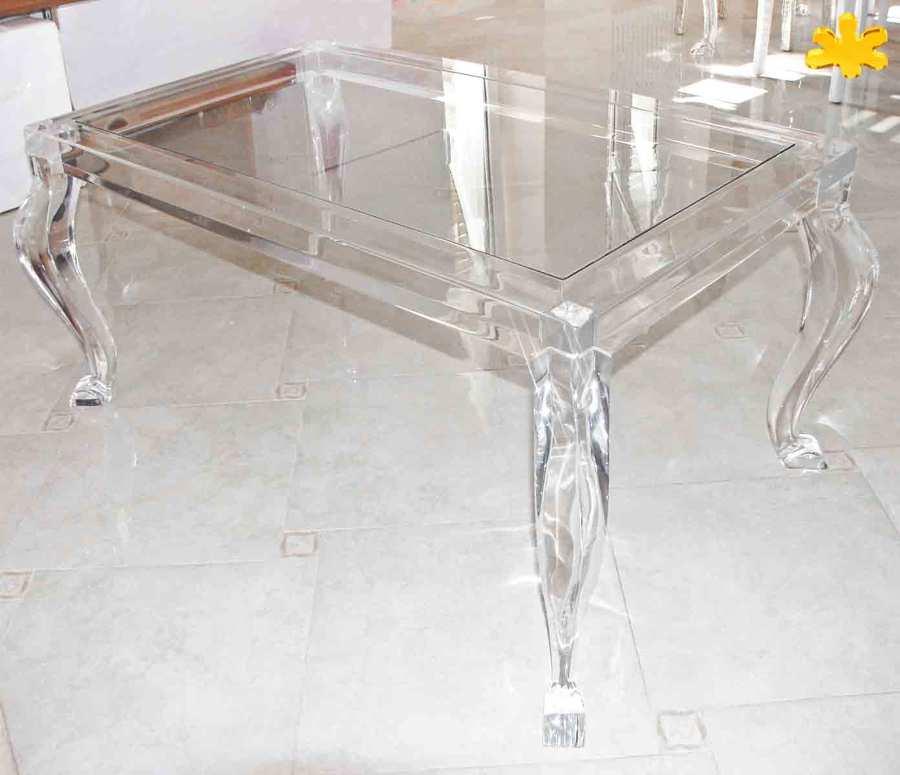 Tavolini In Plexiglass : Tavolini da salotto in plexiglass trasparente idee