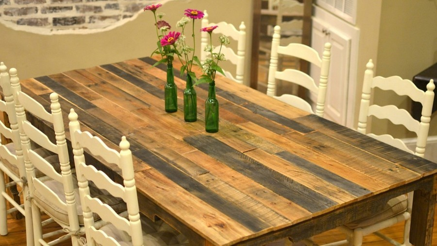spesso Foto: Tavolo con Bancali Riciclati di Valeria Del Treste #329554  YX76