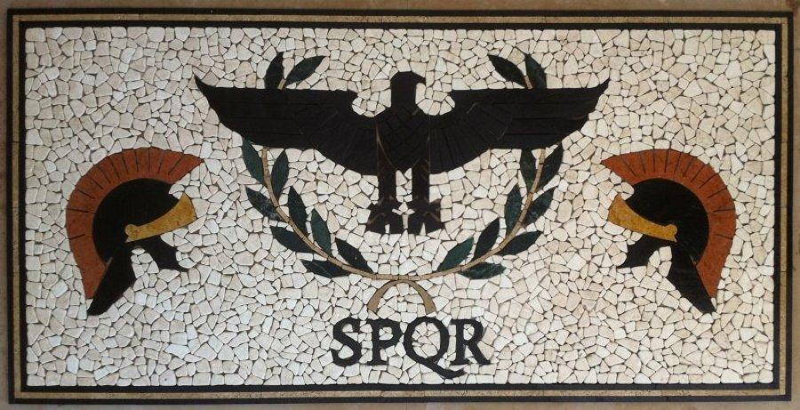 tavolo in intarsio/mosaico cm 200x100